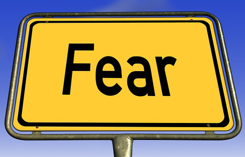 Panic Attacks - Image of sign Fear