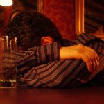 Depressed Man At Bar