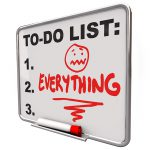 Image of To Do List - Everything Is Too Much